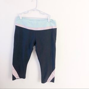 MPG workout capris with drawstring and back pocket